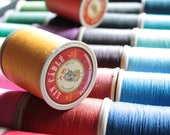 Fil Au Chinois Lin Cable No. 432, 50g Spool of French Corded Waxed Linen Thread, (medium thickness)