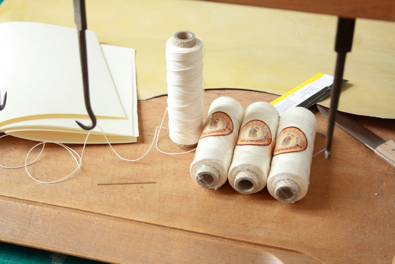 Professional Bookbinding Thread Traditional 100% Linen image 0