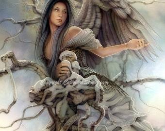 Goblin Queen 11x14 Print Calandra Fantasy Art