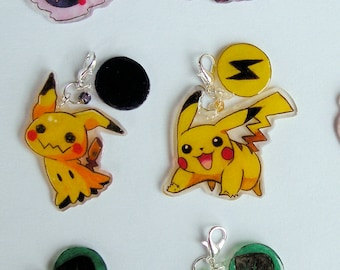 Chibi Pokemon Charm (Any Pokemon in a Chibi Form)