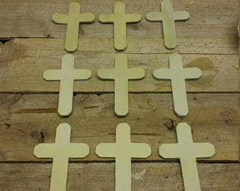 Leather Cross / pendent / necklaces / Ornament / 12 peace