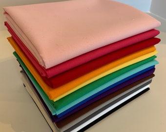 Painter's Palette Solids Fat Quarter Bundle- Color Box