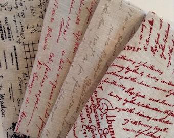 Writings  from Stof of Denmark-  Fat Quarter Bundle