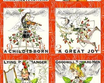 A Child is Born Panel  by J. Wecker Frisch- One Panel