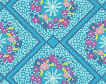 Cottage Treasures in Berry  from Dreamin' Vintage by Jeni Baker for Art Gallery Fabrics