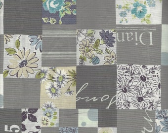 Patchwork Pattern Color D  by Suzuko Koseki for  Yuwa of Japan
