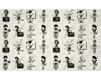 Draw Near Panel in Cream  by J. Wecker Frisch- One Panel