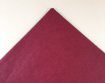 Claret Tissue Paper Sheets, Bulk Maroon Tissue Paper, Premium Burgundy Tissue Paper, Large Wine Red Tissue Paper, Wholesale Maroon Tissue