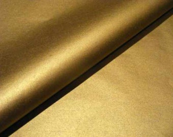 One sided 20 In X 30 In Gold Metalic Tissue paper 48 Pack