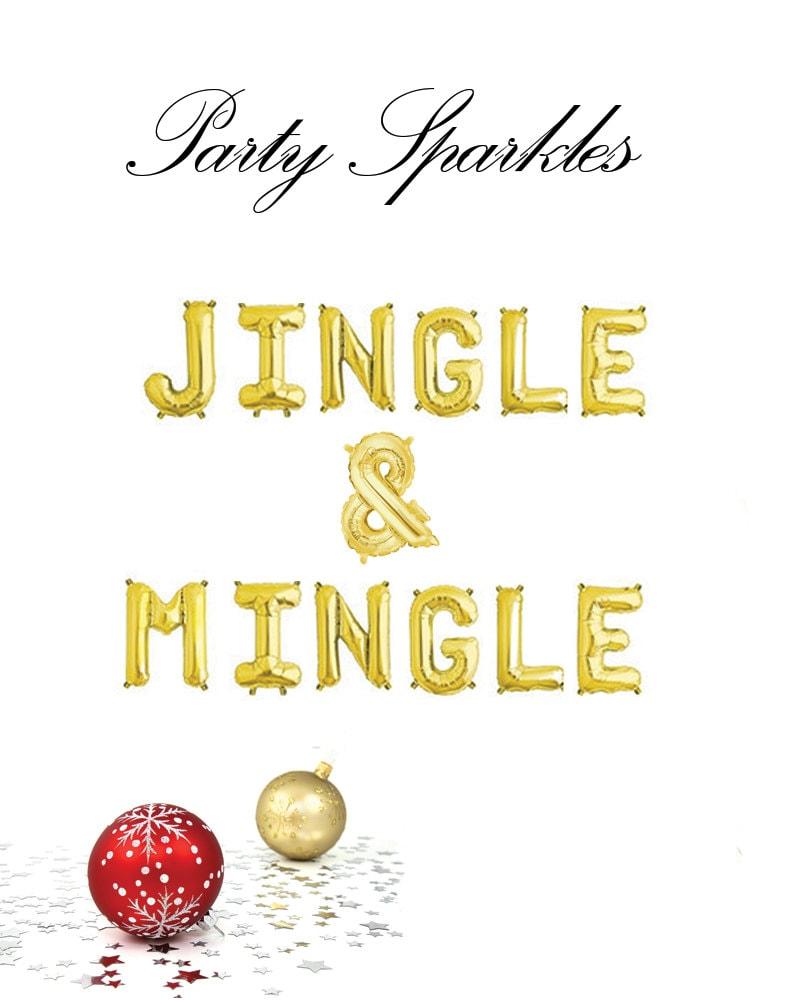Jingle Ballons Se Melent Or Ou Argent Jingle Jingle Argent Et Se