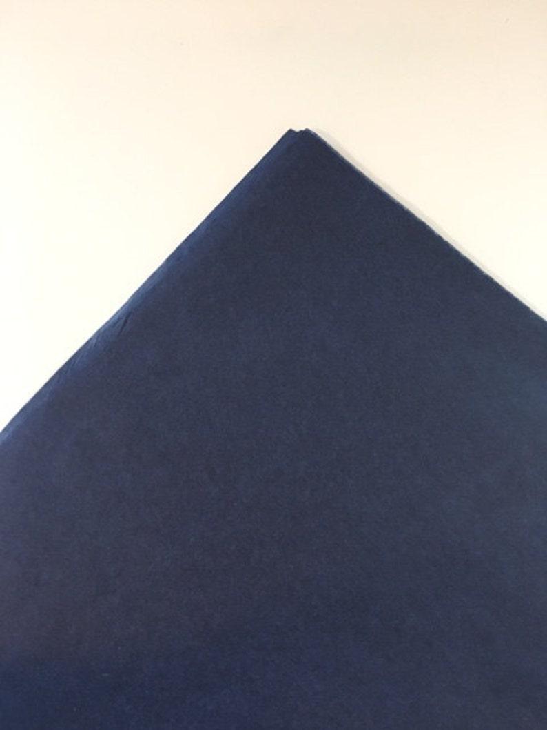 Midnight Blue Tissue Paper Sheets Premium Blue Tissue Paper Bulk Navy Blue Tissue Paper Wholesale Tissue Paper Large Blue Tissue Paper