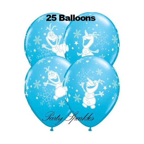 SALE 25 Frozen Birthday Balloon Olaf Balloons Disney