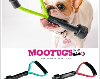 Dog Toys - Cow Milking Tube Tug Toy - Original Size - You Pick the Color