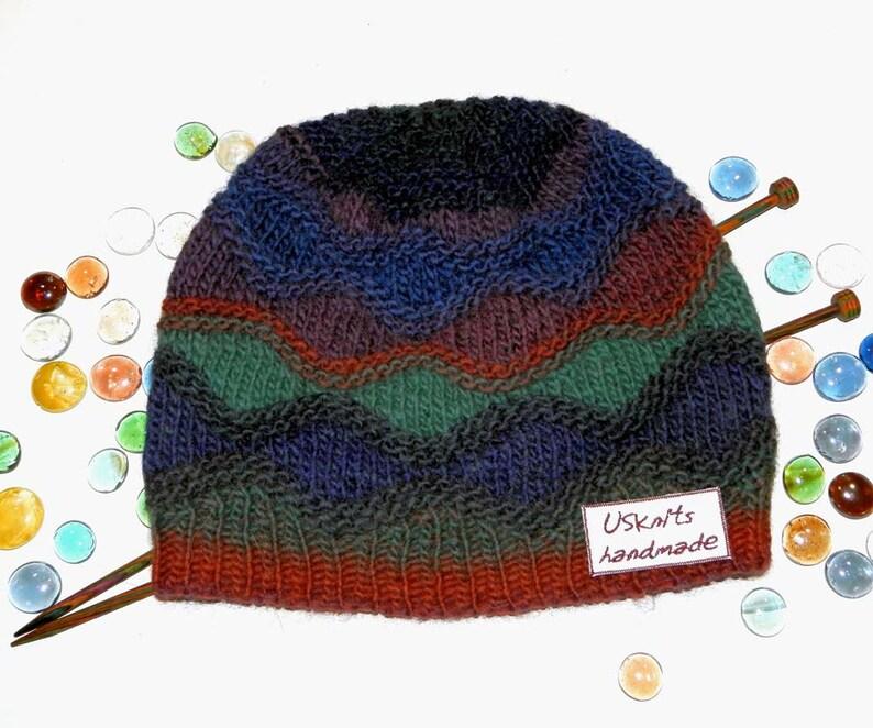 f8c53710f1a Hat winter knit winter hat gift for women pompom hat