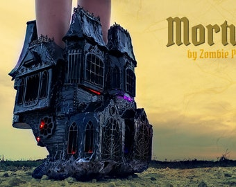 "Decrepit ""Mortuary"" Organ Music House Boots"