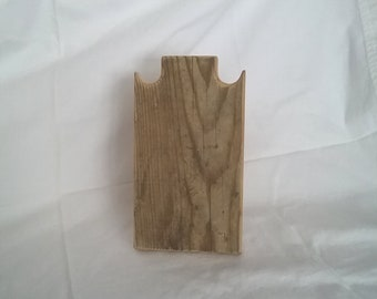 8 collier support collier en bois rustique pouces fait de résisté récupéré bois encombrant prendre vers le bas de conception pour les salons d'artisanat