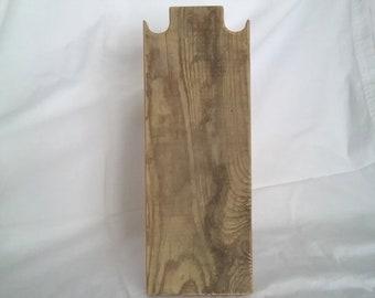 12 pouces collier rustique Stand affichage collier en bois patiné récupéré encombrant bois Design pour les salons d'artisanat