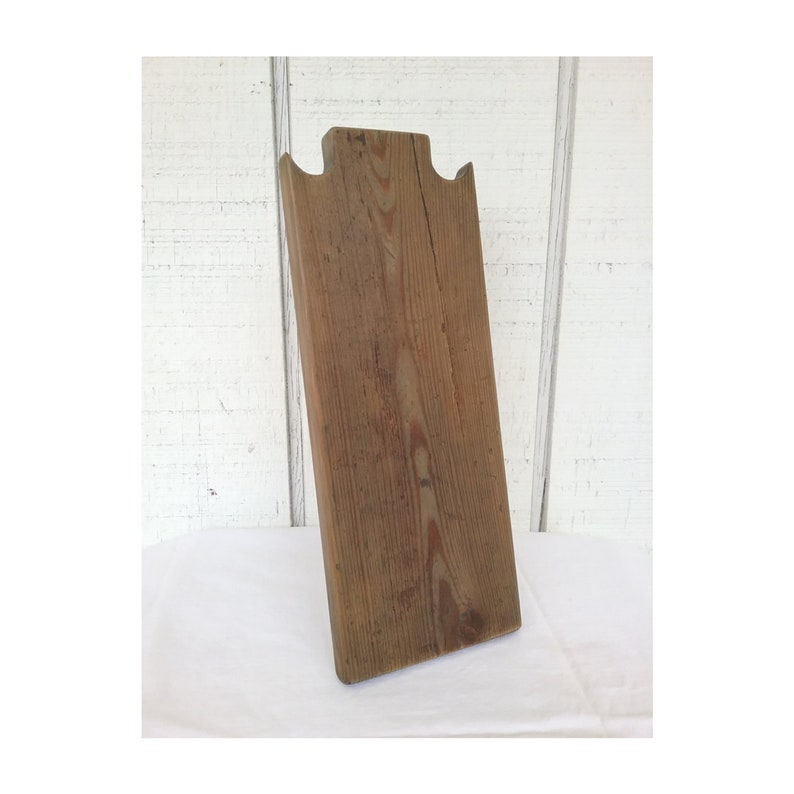 12 Inch Rustic Necklace Stand Wood Necklace Display Reclaimed image 0