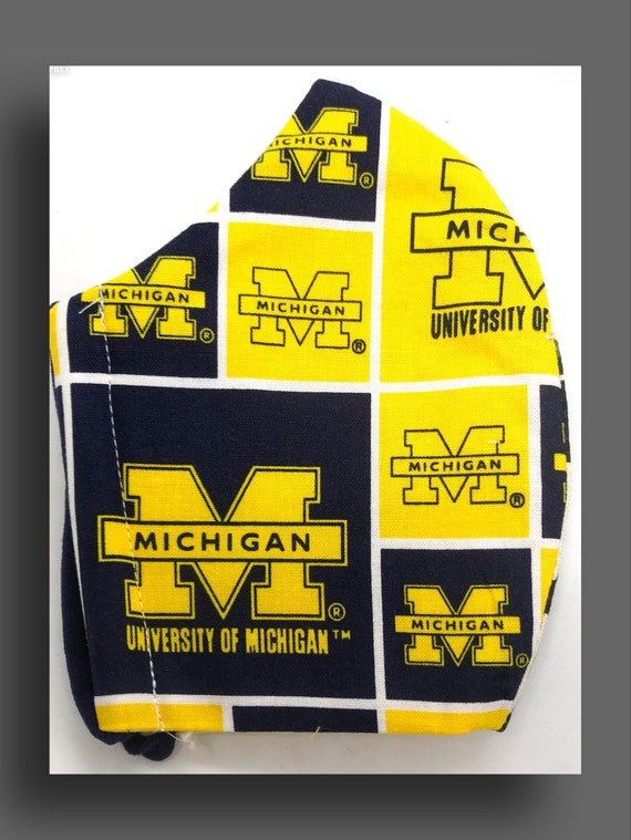 University of Michigan Mask in Sizes for the Entire Family