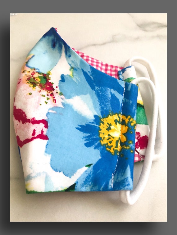Women's Colorful Floral Mask