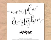 Printable Modern Calligra...