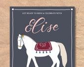 Printable Horse / Pony Bi...