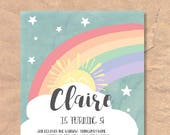 Printable Rainbow Birthda...