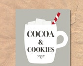 Printable Cocoa and Cooki...