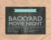 Printable Movie Night Inv...