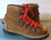 Vintage Made in Italy Hiking Boots Size 7 us