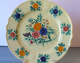 Vintage Made in Italy  Deruta  Plate