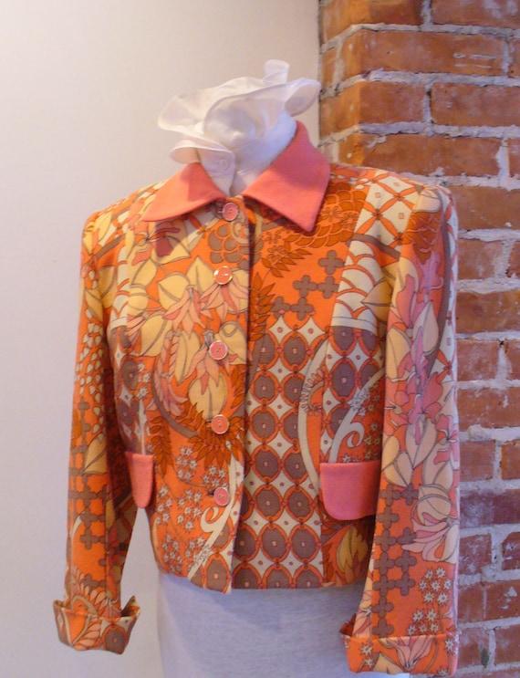 Vintage Bessi Wool Crepe Jacket Made in Italy