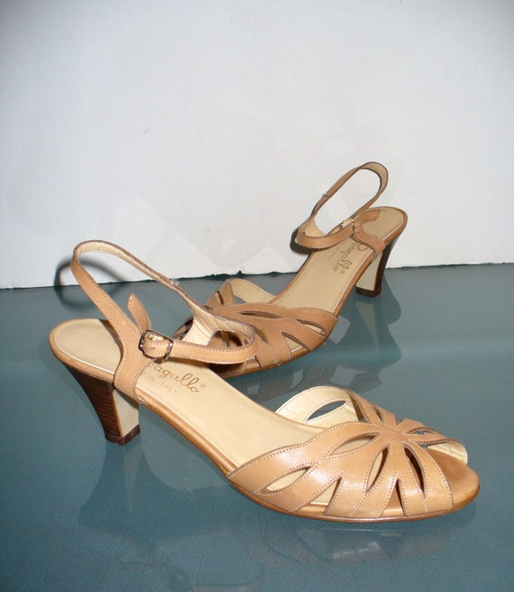 Vintage Pappagallo Made in Italy Slingback Sandals