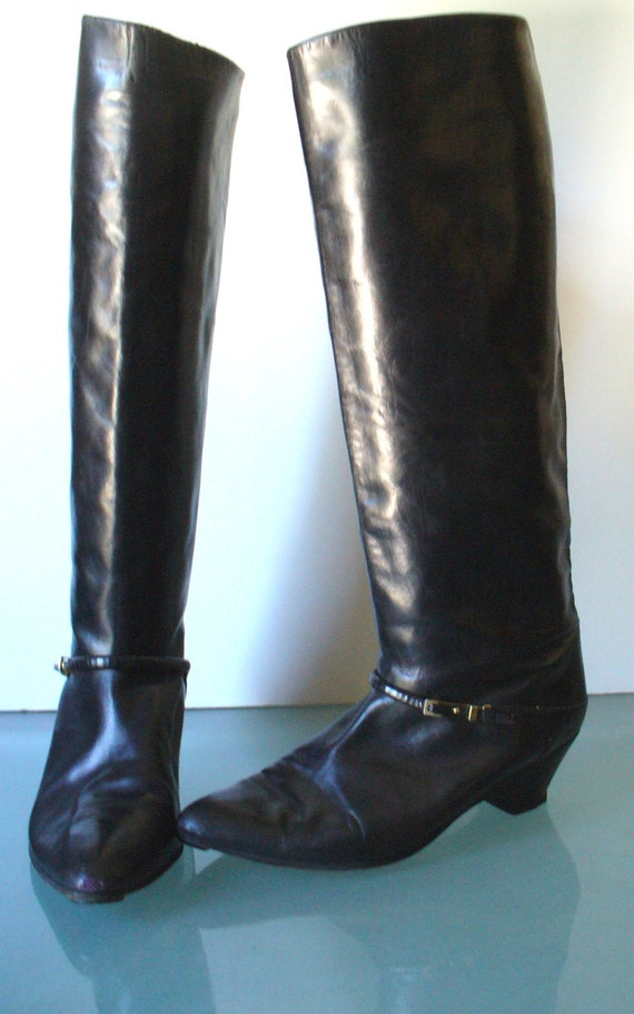 vintage Joan & David Couture Made in Italy Equestr