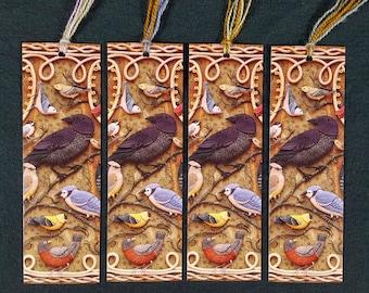 4 Bookmarks - Birds of Beebe Woods