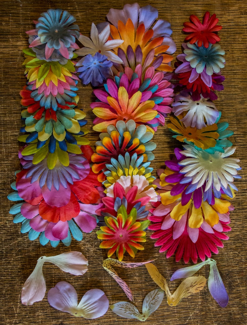 Flower fairy petal skirts and wings image 0