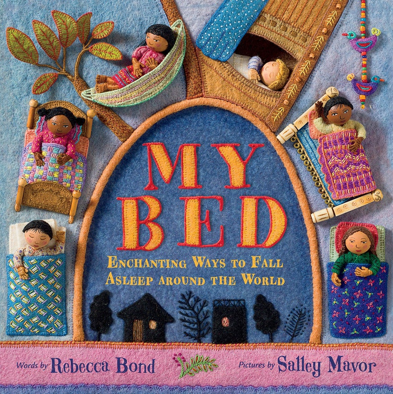 MY BED  autographed picture book image 0