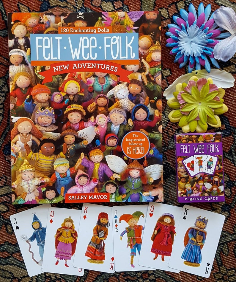Felt Wee Folk: New Adventures how-to book  autographed 2015 image 0