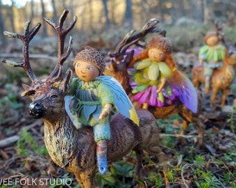 4 Cards - Reindeer Ride