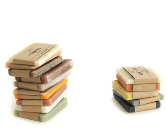 Soap Sampler - Handmade Soap - Natural Soap - Soap Samples - Vegan Soap - Cold Process Soap - Soap Set - Soap Gift Set - Homemade Soap Ends