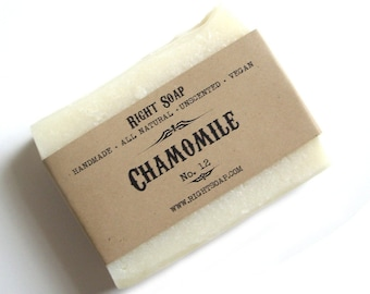 Handmade Soap Natural Soap Vegan Soap Cold Process Soap Homemade Soap Bar Soap Organic Soap All Natural Soap Favors Facial Soap CHAMOMILE