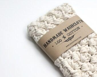WASHCLOTH Crochet Washcloth Cotton Washcloths Hostess Gift Housewarming Gift For Her Bath Accessories Wash Cloth Bath Accessory Mom Gifts