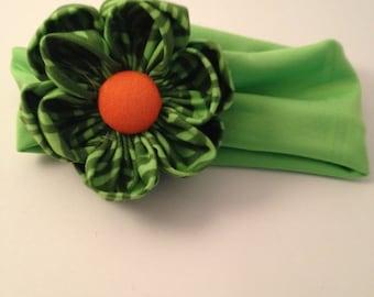 Green and Orange UM Hairband