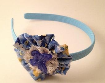 Blue Butterfly Florrette Hairband
