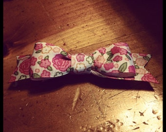 Flower  s Hair Bow - 2 inches