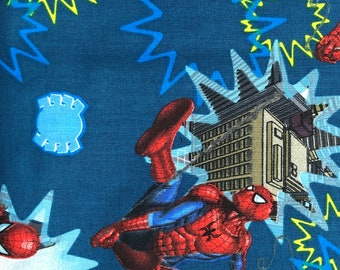 Fabric by the Yard - Spider-Man Spider Senses