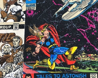 Fabric by the Yard - Classic Marvel Comic Book