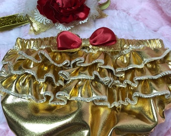 Golden Rose Princess Diaper Cover