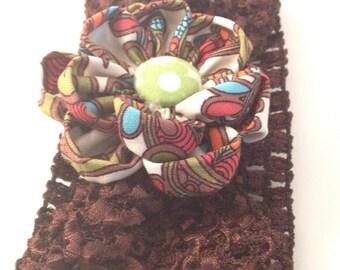Chocolate Waffle Hairband