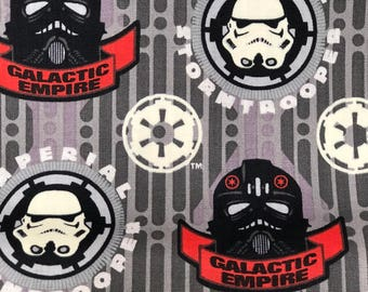 Fabric by the Yard - Star Wars Stormtrooper Tie Pilot Galactic Empire Icons